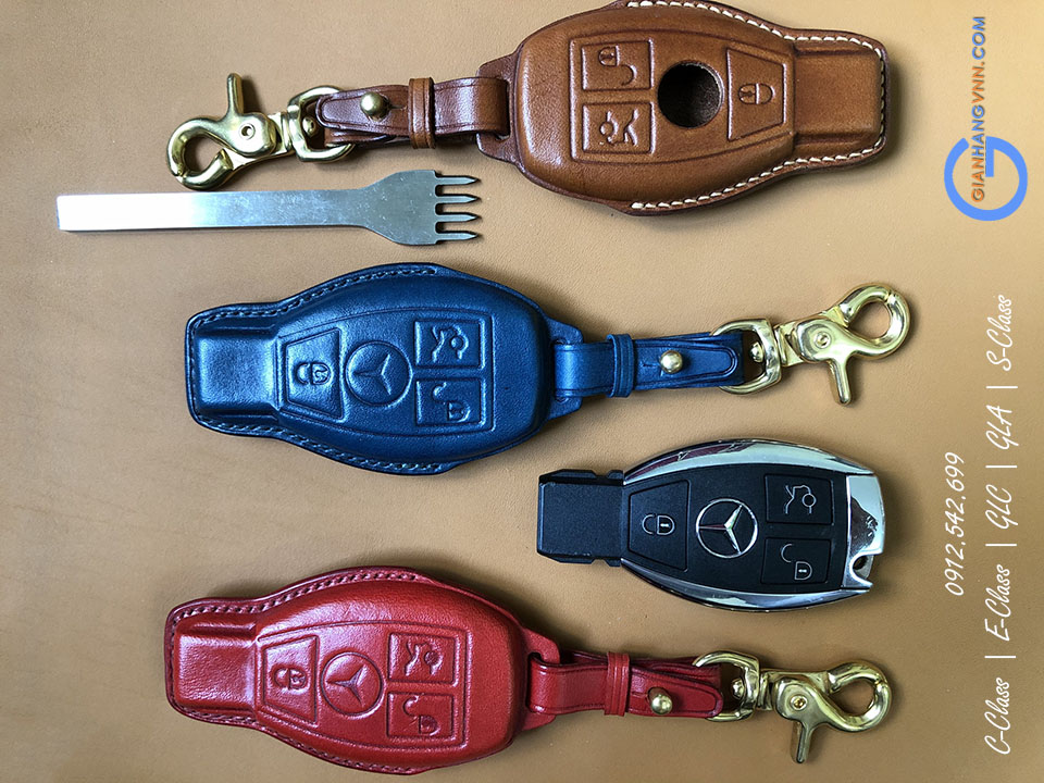 ốp chìa khóa mercedes