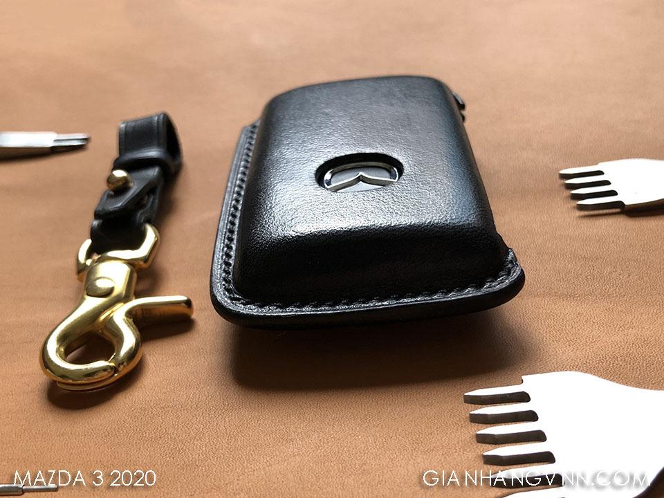 Bao da chìa khóa Mazda 3 all new