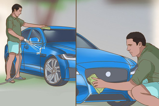 Tự rửa ô tô tại nhà