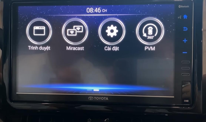 Hướng dẫn kết nối Bluetooth Toyota Corolla Cross