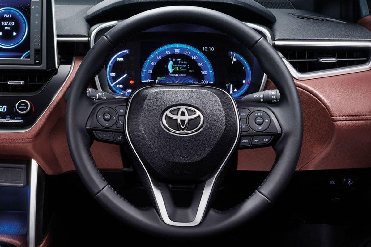 Hướng dẫn sử dụng nút trên vô lăng Toyota Corolla Cross