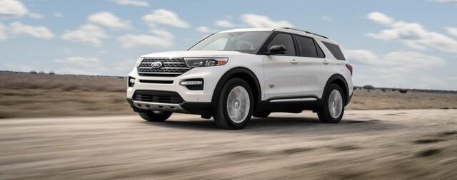 Hình ảnh của mẫu Ford Explorer King Ranch 2021