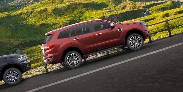 Hình ảnh tổng quan Ford Everest 2021