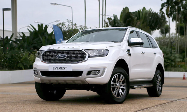 Ngoại thất của Ford Everest 2021